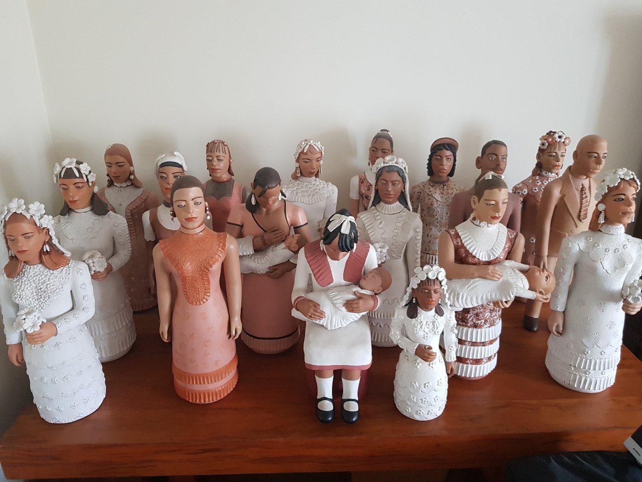 Coleção Bonecas de Barro